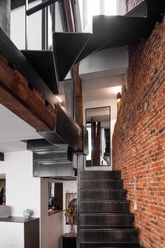 Rénovation et restructuration complète d'une maison dans le vieux Lille
