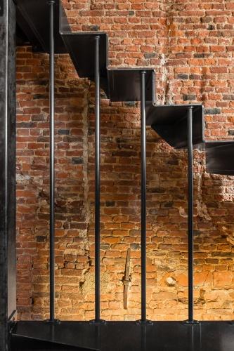 Rénovation et restructuration complète d'une maison dans le vieux Lille : architecte lille nord architecte d'interieur decorateur rénovation maison cachet verrière metal parquet vieux lille poutre industriel touro (9)