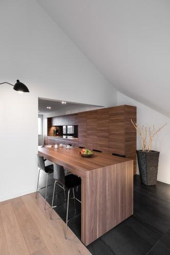 Restructuration complète d'un grand appartement en duplex : architecte lille loft duplex industriel poutre métal parquet cuisine ilot piano décoration intérieur Jean-Philippe AUGUSTO (2)