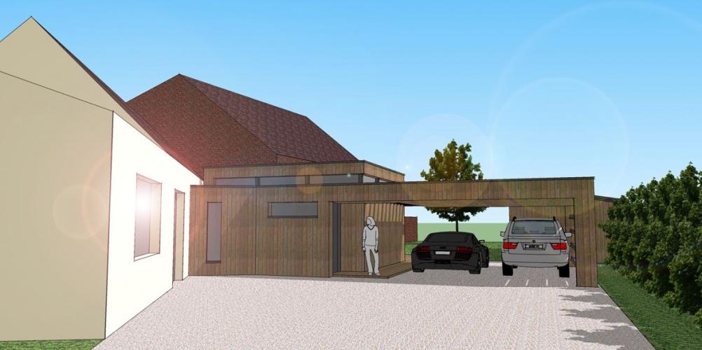 Extension d'une maison individuelle : STAMAND02