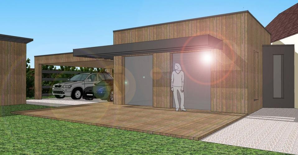 Extension d'une maison individuelle : STAMAND03