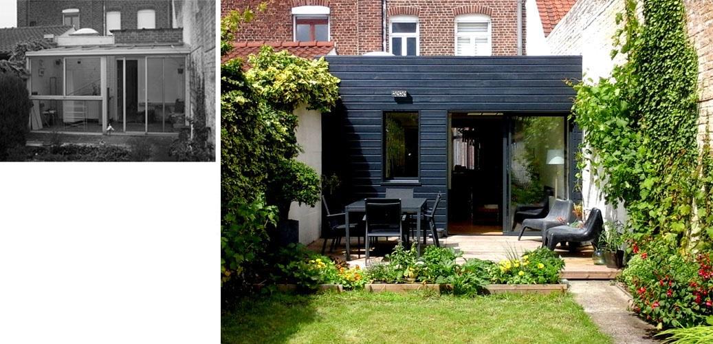 Restructuration d'une maison 1930