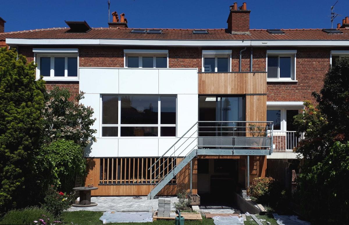 Extension d'une maison bel-étage : Pjard01