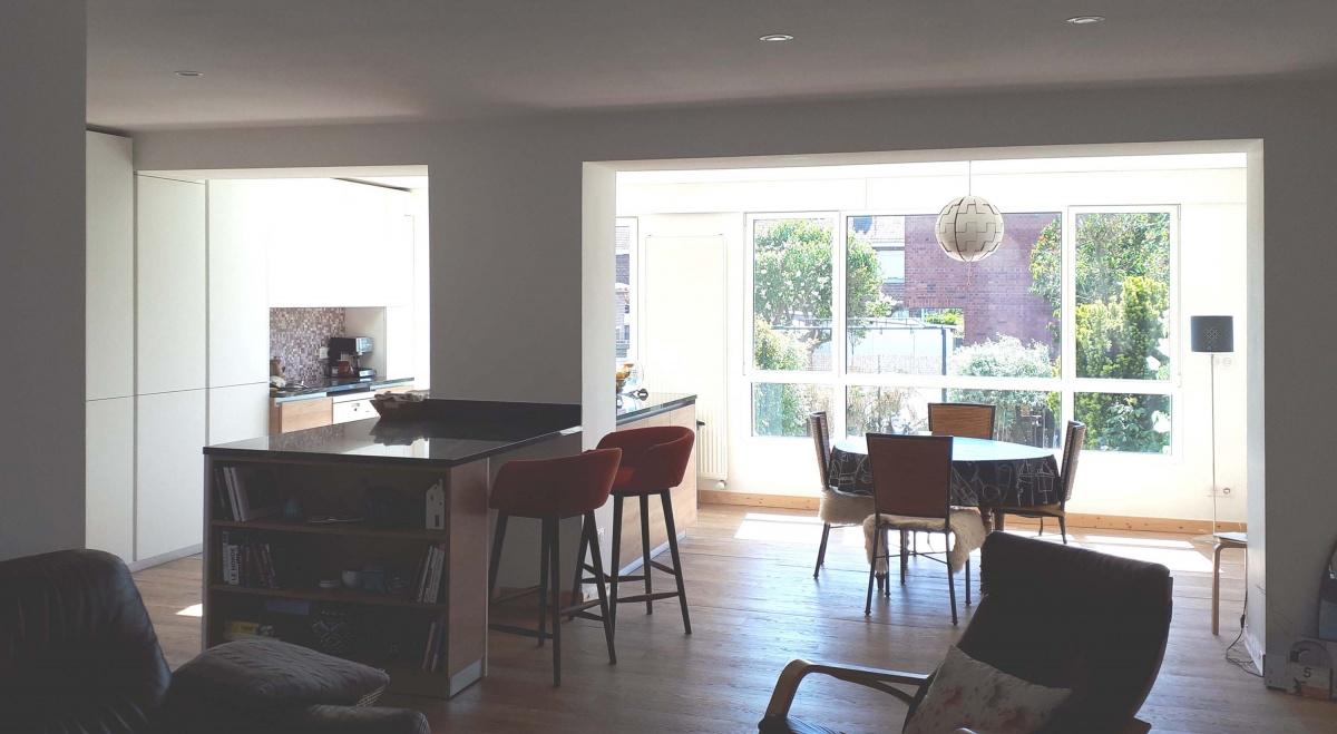 Extension d'une maison bel-étage : Pint02