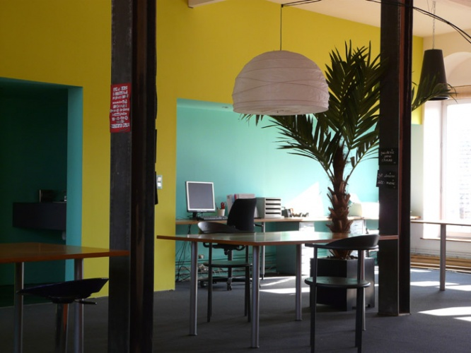 Aménagement d'un plateau libre en espace de travail