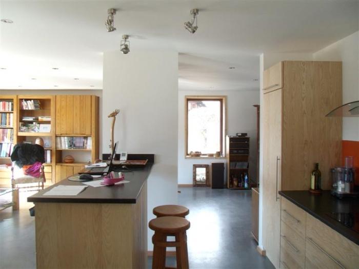 maison passive cabinets m dicaux passy une r alisation de labokub. Black Bedroom Furniture Sets. Home Design Ideas