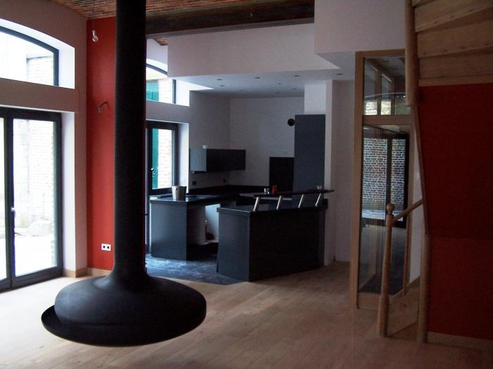 r habilitation d 39 une ancienne curie en habitation saint omer une r alisation de epure. Black Bedroom Furniture Sets. Home Design Ideas