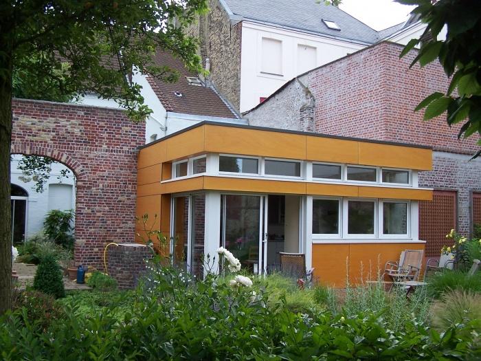 extension habitation en centre ville saint omer une r alisation de epure. Black Bedroom Furniture Sets. Home Design Ideas