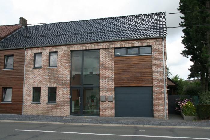 Construction d'une maison individuelle de type T3 + un appartement de type T4 : Projet
