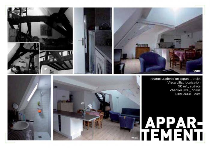 Restructuration de l'intérieur d'un appartement VIEUX-LILLE (59000)