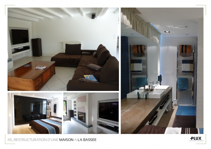 R am nagement d 39 une maison de caract re la bassee 59480 for Studio amenagement interieur