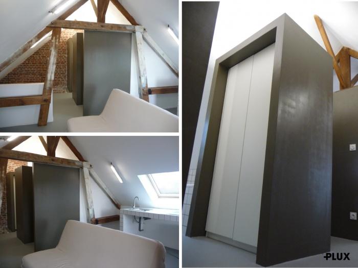 Réhabilitation d'une maison en trois appartements près de VALENCIENNES (59300)