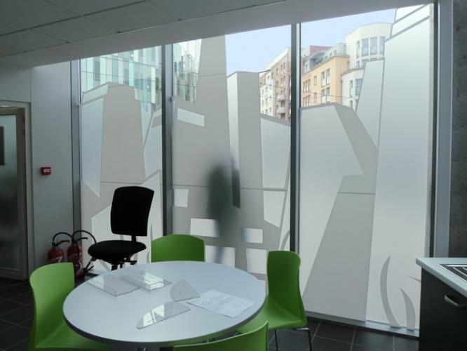 Espace vente pour Transpole : salle de détente