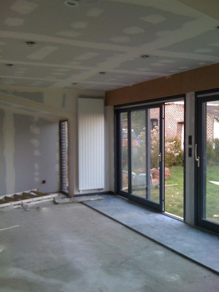 Maison individuelle à Boeschepe (59) : chantier