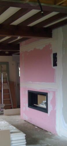 Maison individuelle à Boeschepe (59) : transformation cheminée