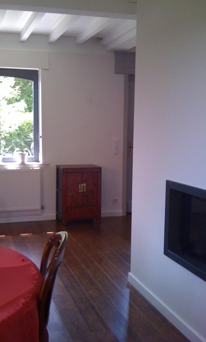 Maison individuelle à Boeschepe (59) : cheminée