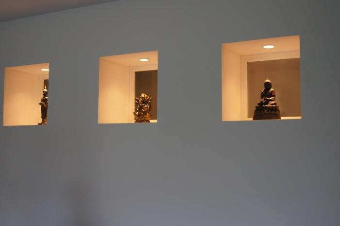 Maison individuelle à Boeschepe (59) : détail niches