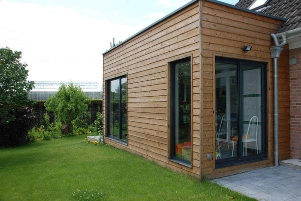 Extension Bois D 39 Une Maison Mouvaux Mouvaux
