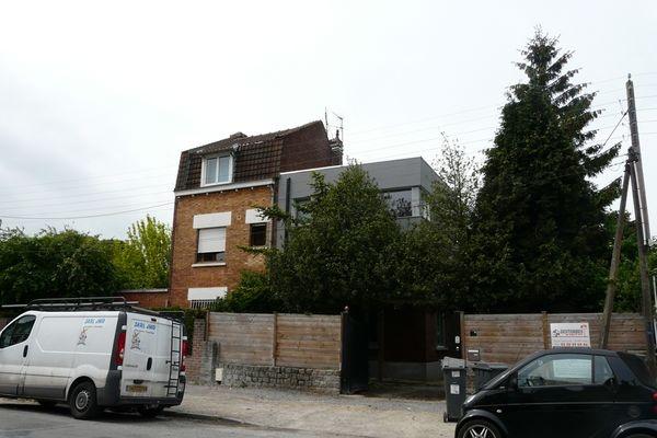 Surélévation d'une maison individuelle à Lambersart