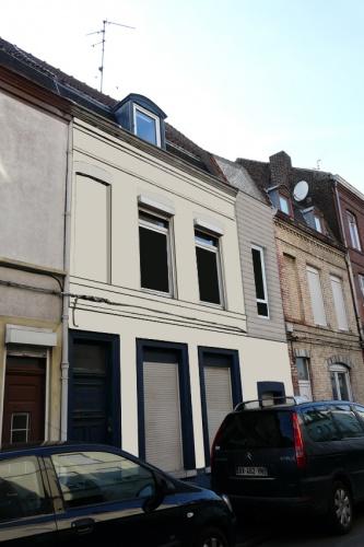 Extension en R+1 d'une maison à Lille