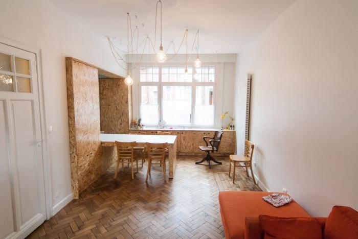 MUR TIROIR, restructuration et aménagement intérieur d'une maison individuelle à Marcq en Baroeul