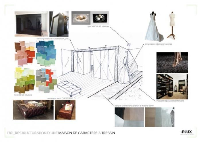 Restructuration d'une maison familiale à TRESSIN_Architecte Lille PLUX : Architecte Lille Plux Tendances Habitat 2014 décoration intérieur41