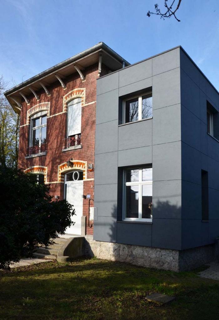 Extension et rénovation d'une habitation