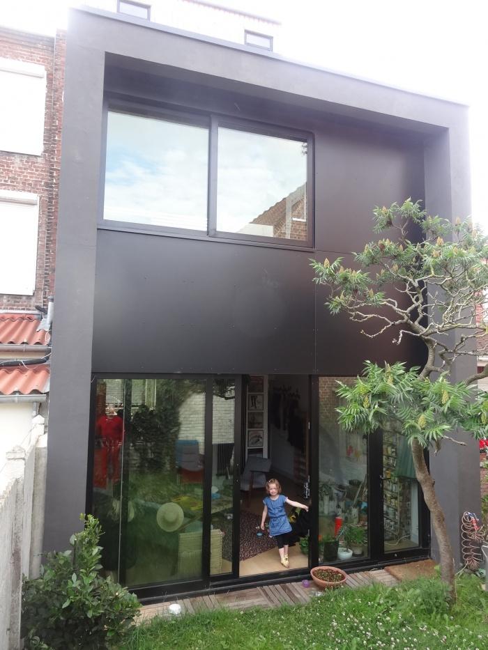 Rénovation et Extension d'une maison mitoyenne