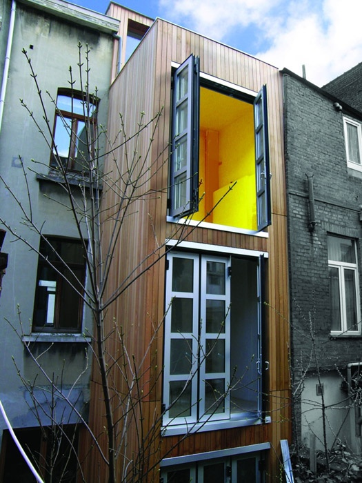 Extension d'un immeuble de rapport (Belgique)