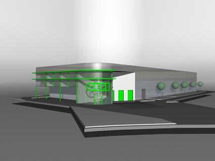 Entrepôt + bureaux