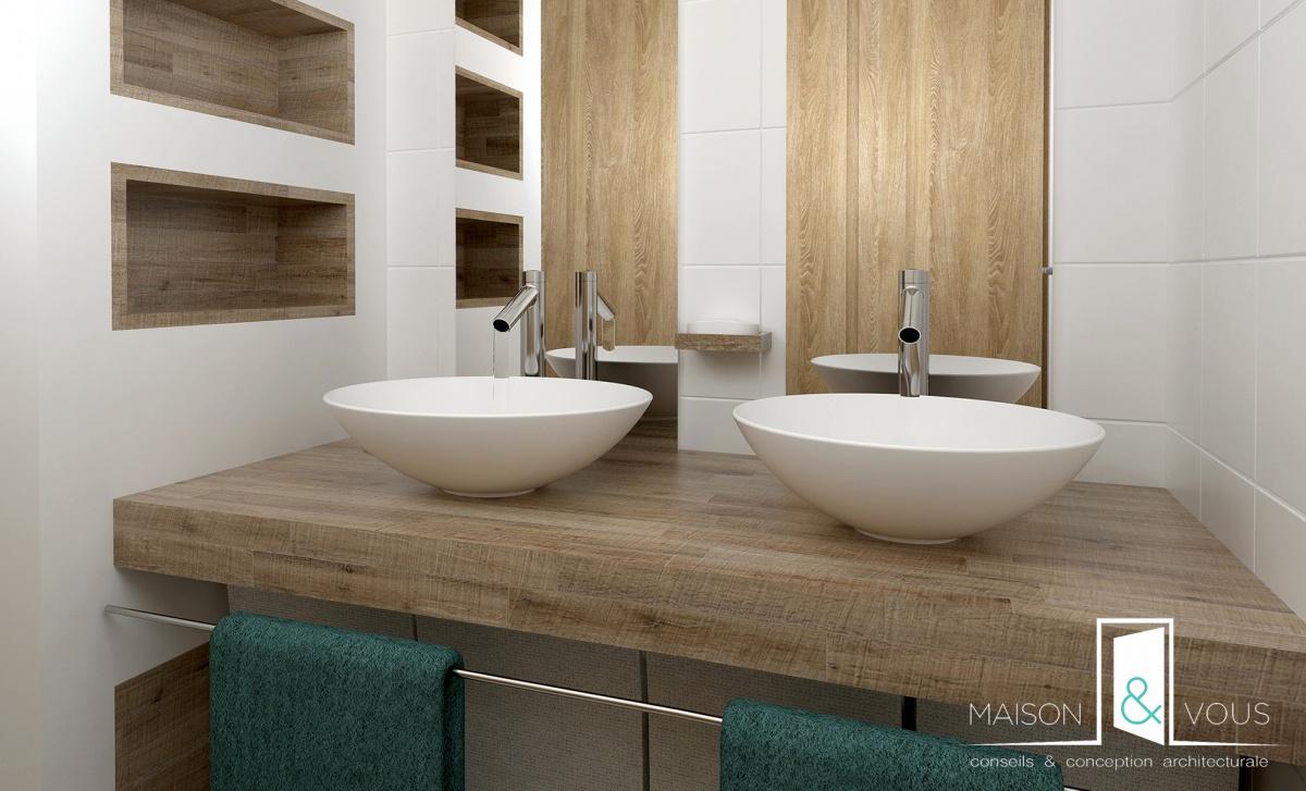 Rénovation salle de bain à Lille : une réalisation de Maison & Vous