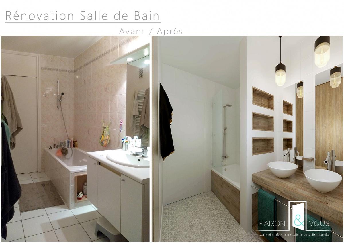 r novation salle de bain lille une r alisation de maison vous. Black Bedroom Furniture Sets. Home Design Ideas