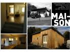 Restructuration d'une maison de campagne à ossature bois à Valenciennes (59300)