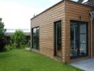 Extension bois d'une maison à Mouvaux