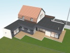 Rénovation et extension d'une maison à Willems
